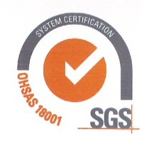 logo SGS - Certificazione 18001 SMS OPERATIONS